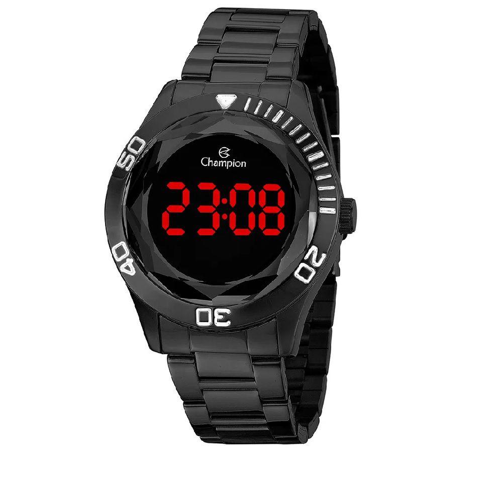 Relógio Feminino Champion Digital CH48073D - Preto