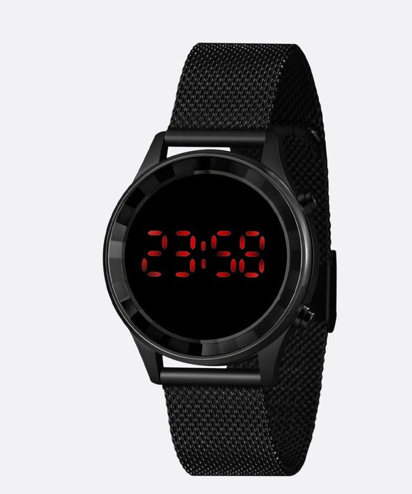 Relógio Feminino Digital Lince LDN4647L PXPX Preto