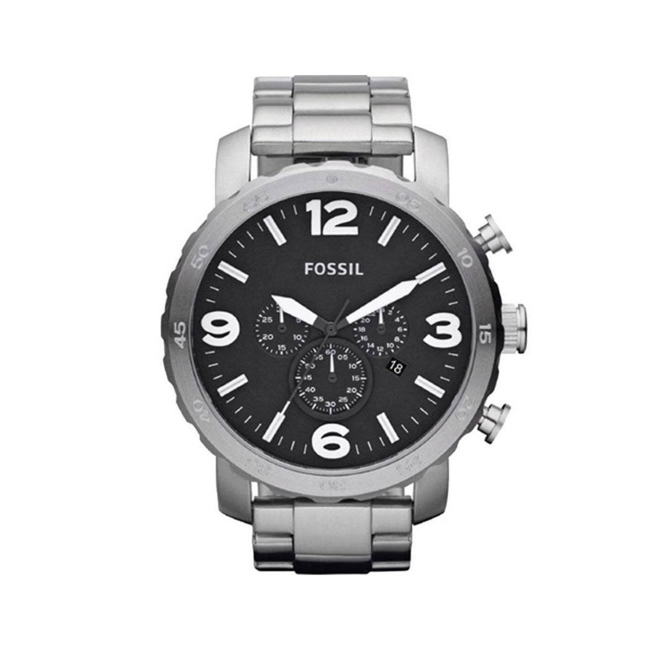 Relógio Fossil Nate Masculino Quartz FJR1353/1PN