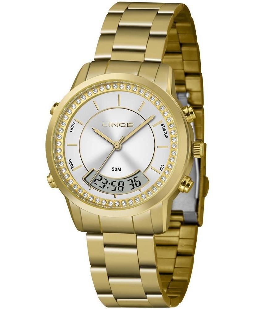 Relógio Lince Digital / Analógico Feminino LAG4640L S1KX