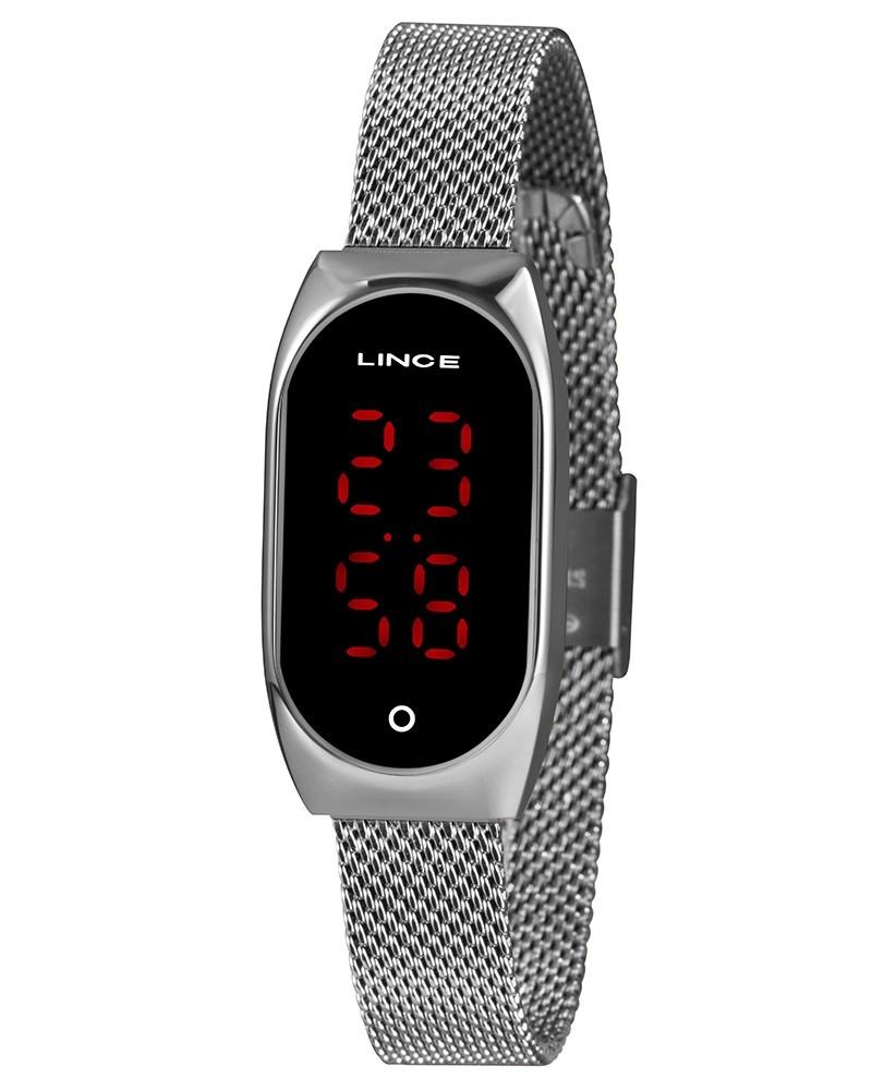 Relógio Lince Digital Feminino LDM4641L PXSX Prata