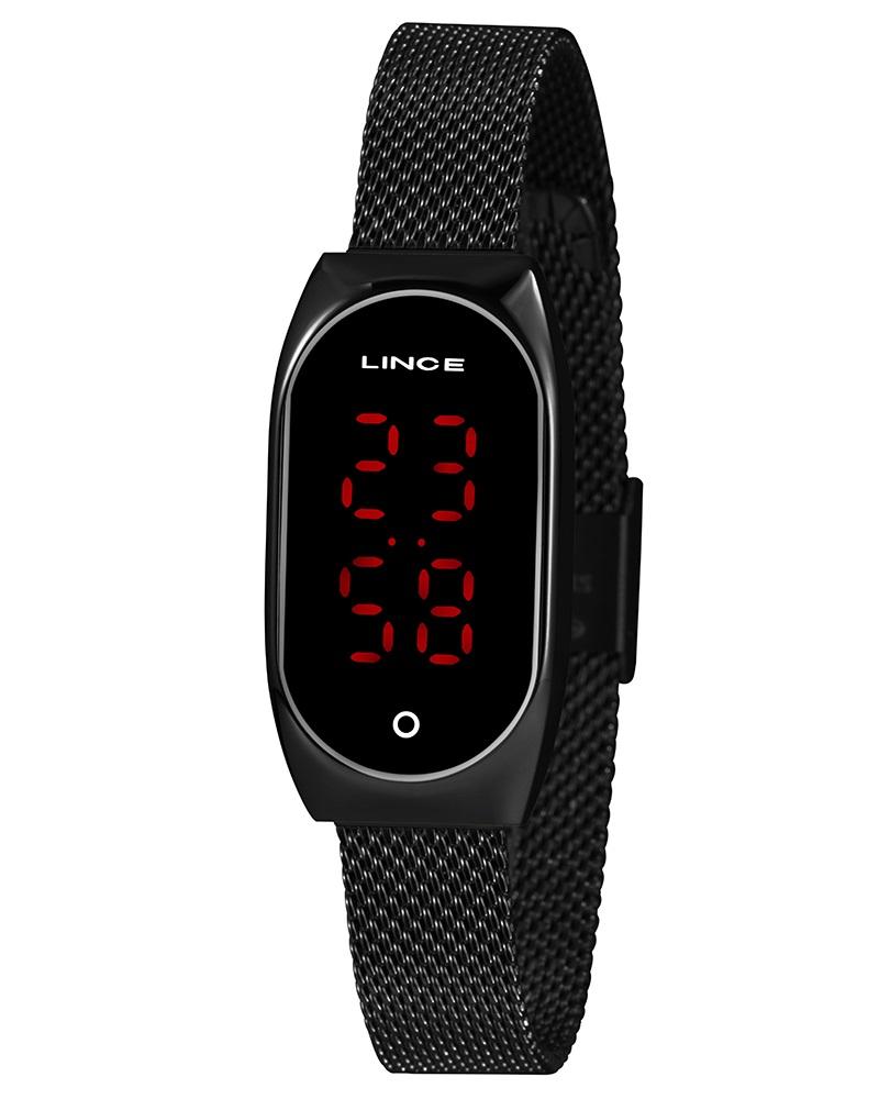 Relógio Lince Digital Feminino LDN4641L PXPX Preto