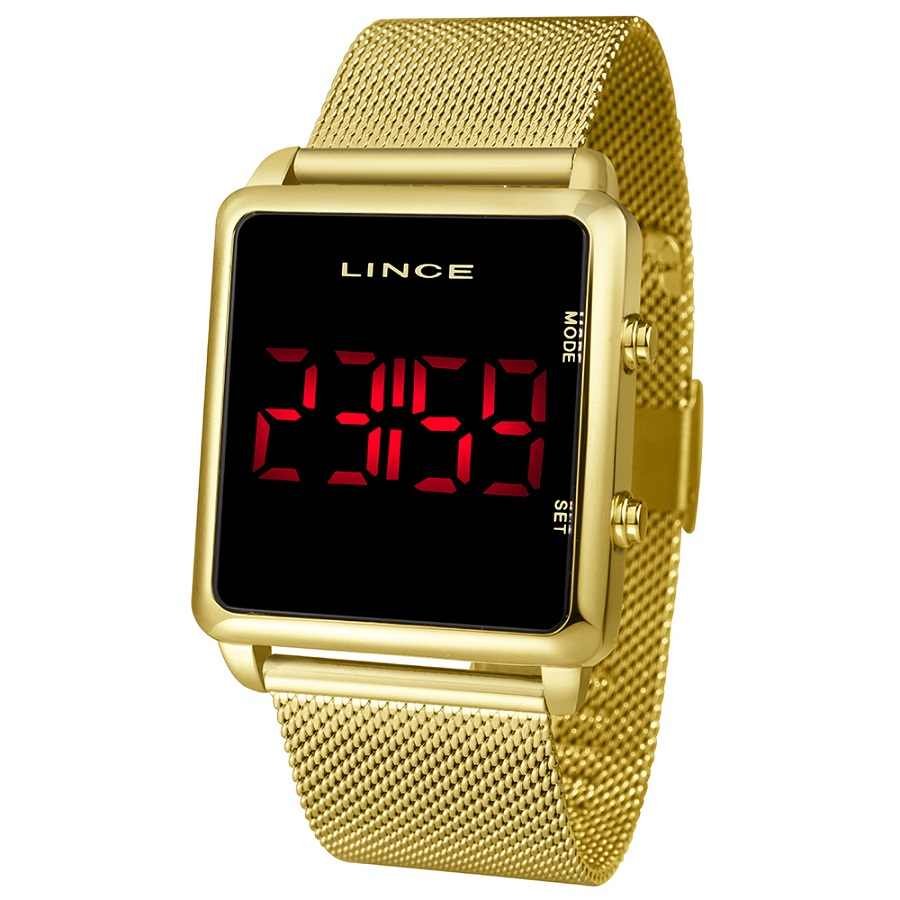 Relógio Lince Digital Feminino MDG4596L PXKX