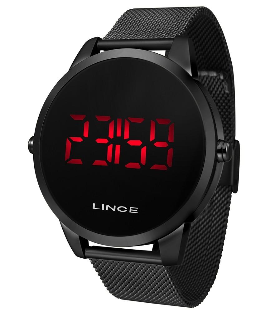Relógio Lince Digital Feminino MDN4586L PXPX Preto