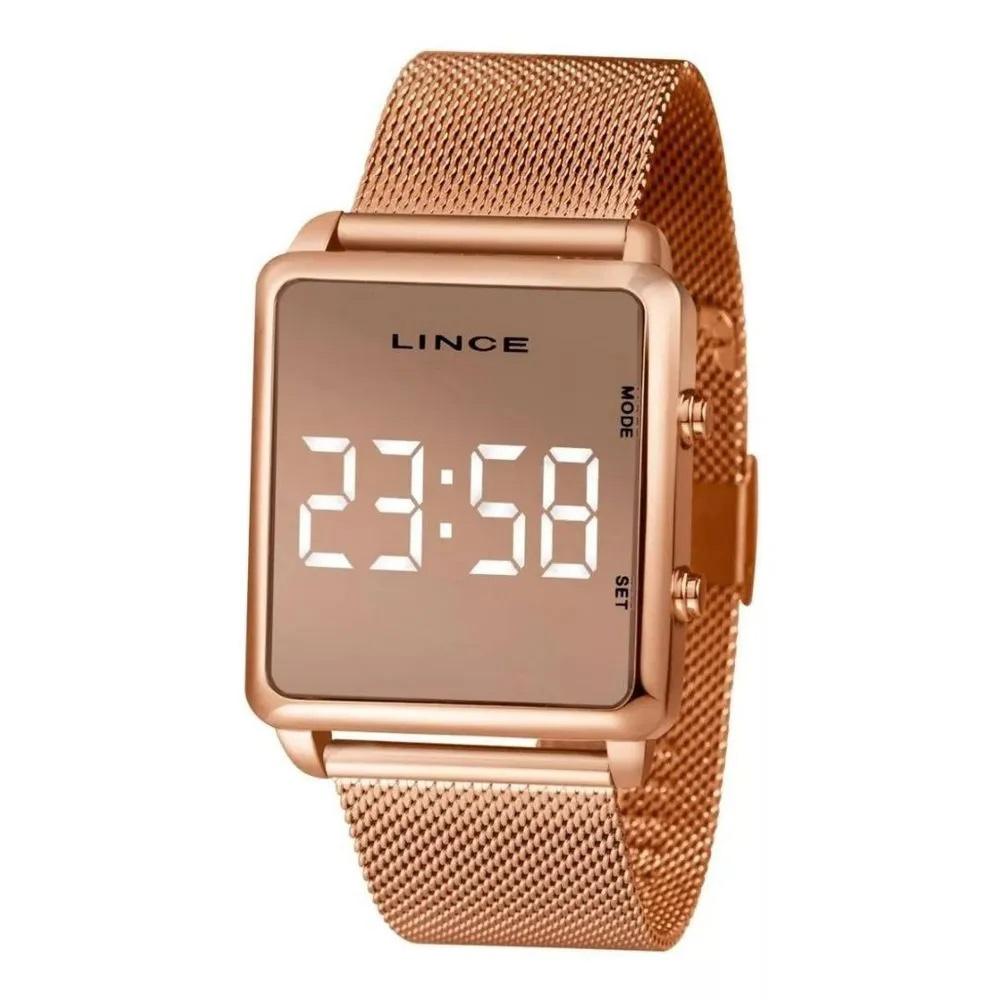 Relógio Lince Digital Feminino MDR4619L BXRX