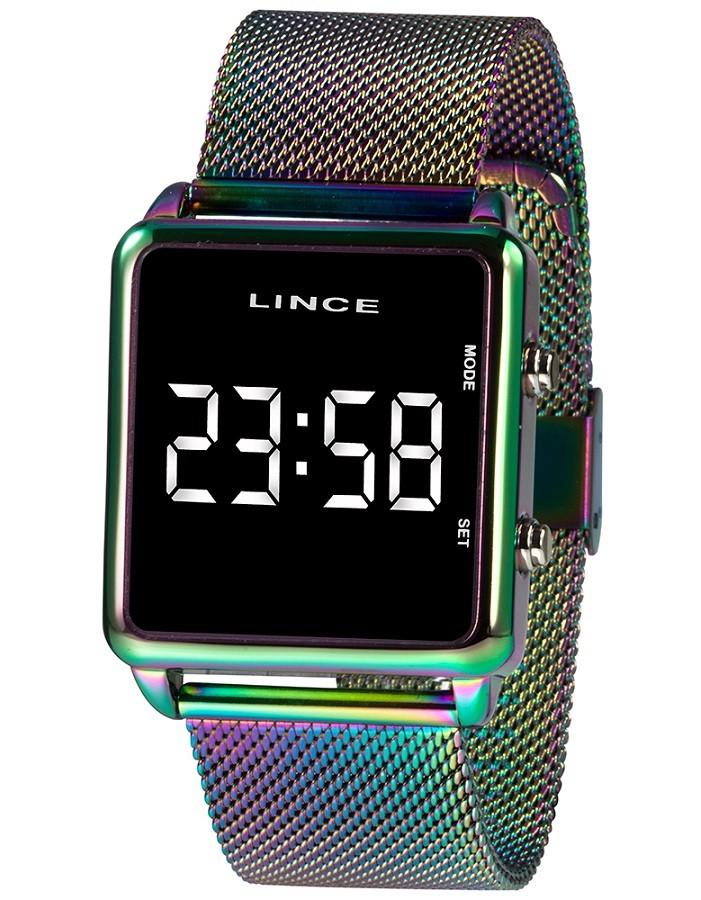Relógio Lince Digital Feminino MDT4619L BXQX Tie-Dye