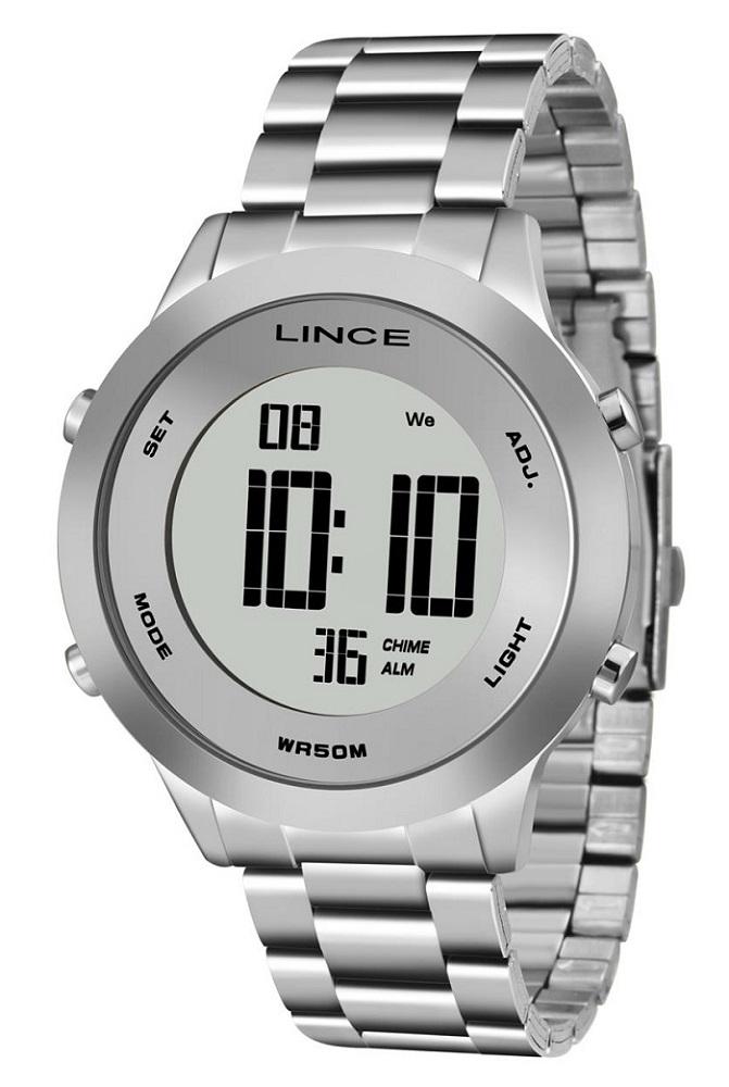 Relógio Lince Digital Feminino SDPH039L SXSX Prata