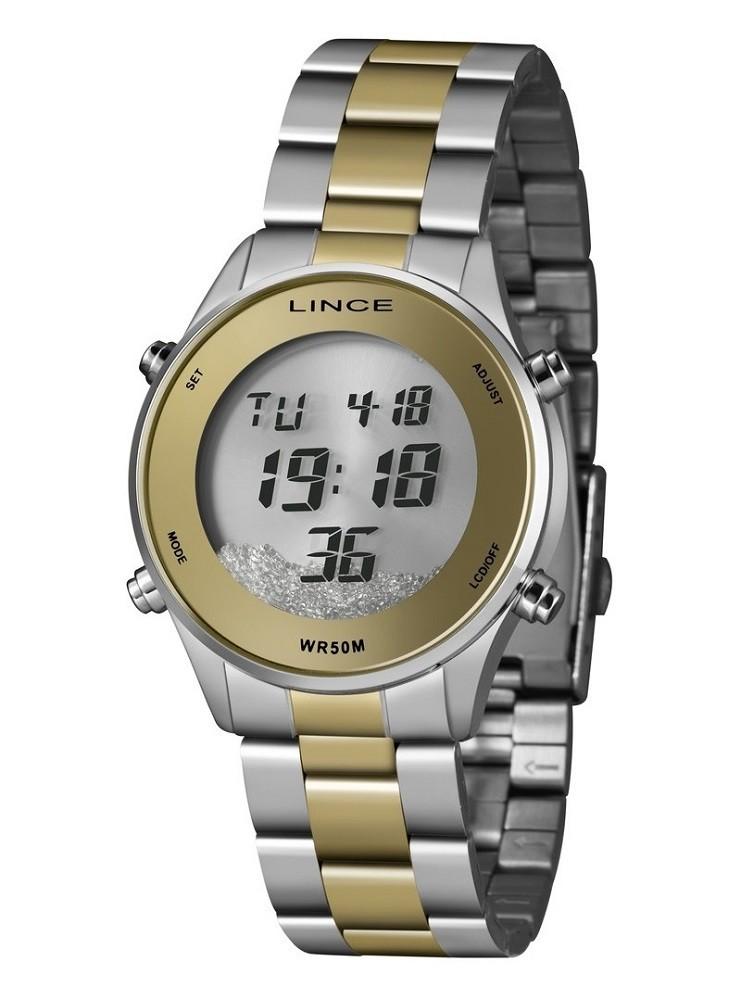 Relógio Lince Digital Feminino SDT4638L SXSK