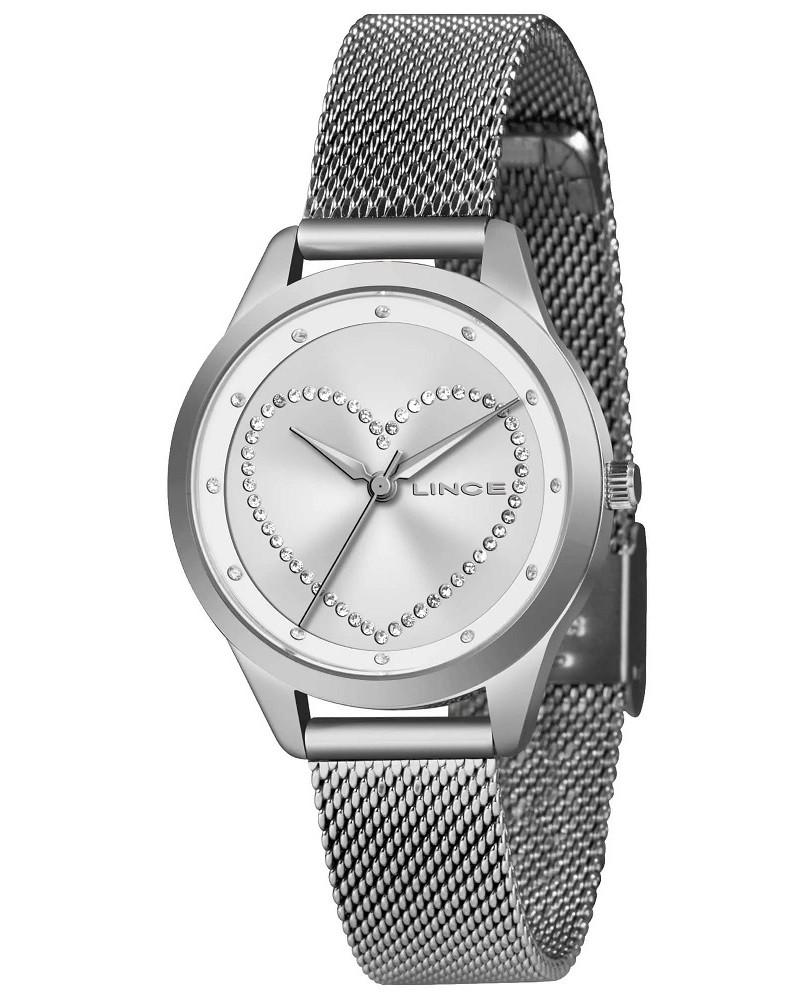 Relógio Lince Feminino Funny LRM4557L S1SX Prata