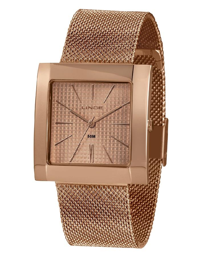 Relógio Lince Feminino LQR4664L R1RX Rosê