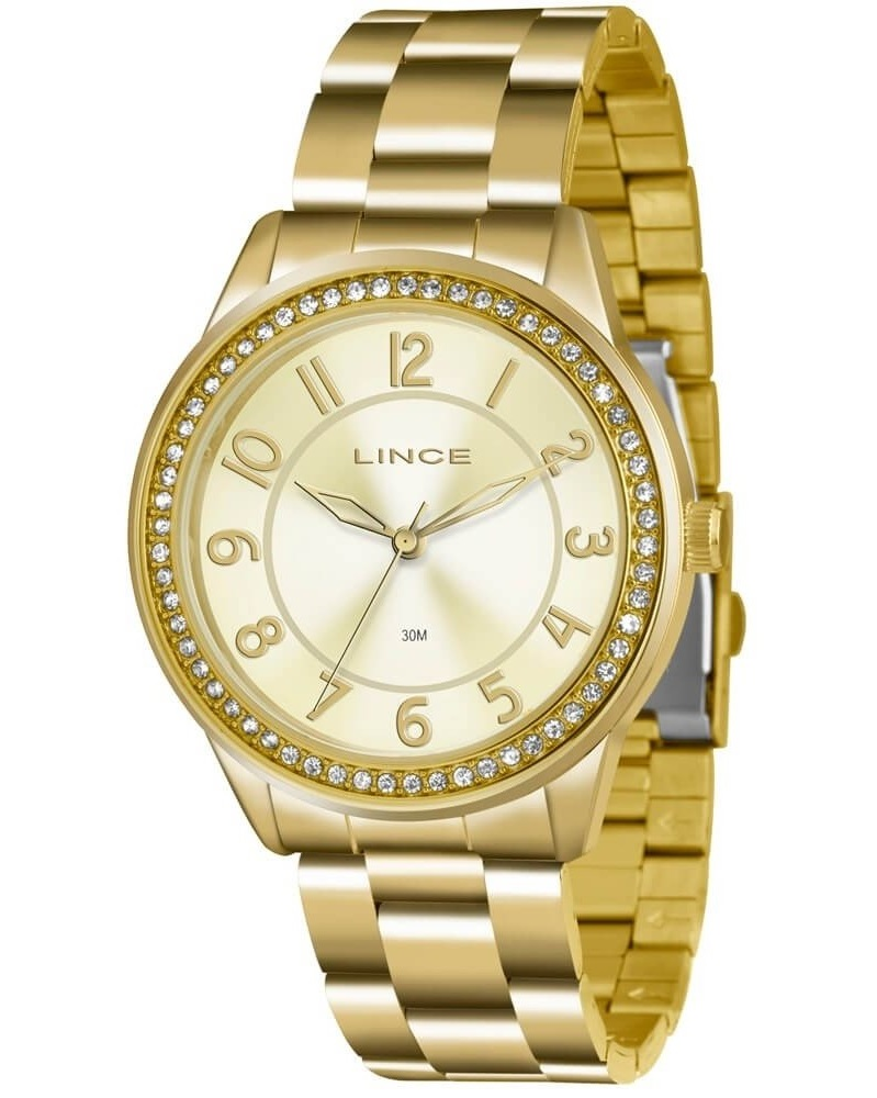 Relógio Lince Feminino LRG4339L C2KX Dourado