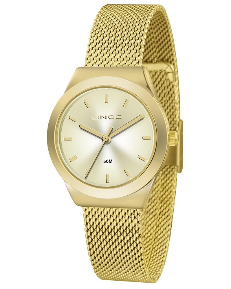 Relógio Lince Feminino LRG4493L C1KX Dourado