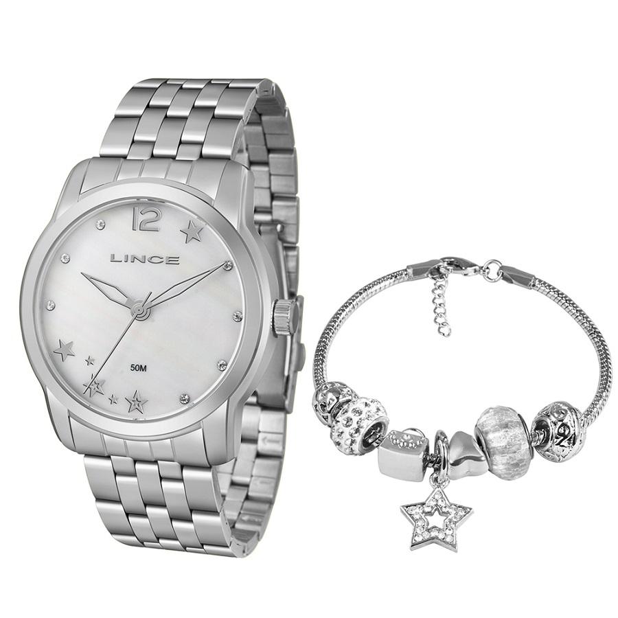 Relógio Lince Feminino LRM4552L KU93 Prata