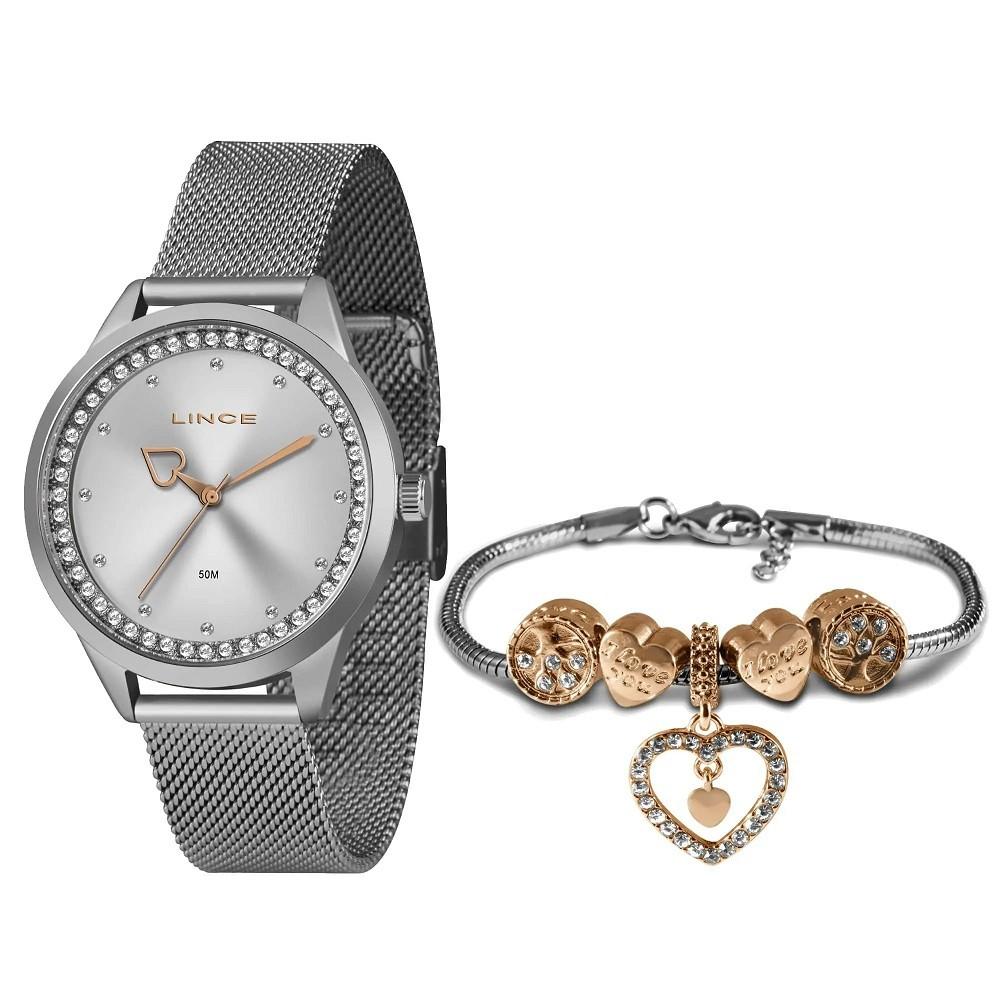 Relógio Lince Feminino LRM4666L KY15 Prata