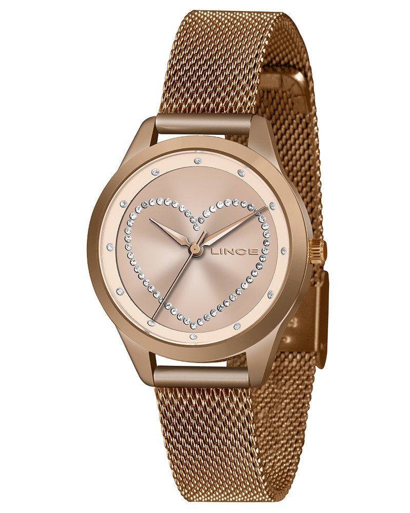 Relógio Lince Feminino LRR4557L R1RX Rosê