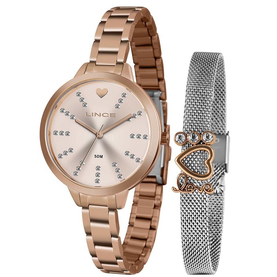 Relógio Lince Feminino LRR4667L KY22 Rosê