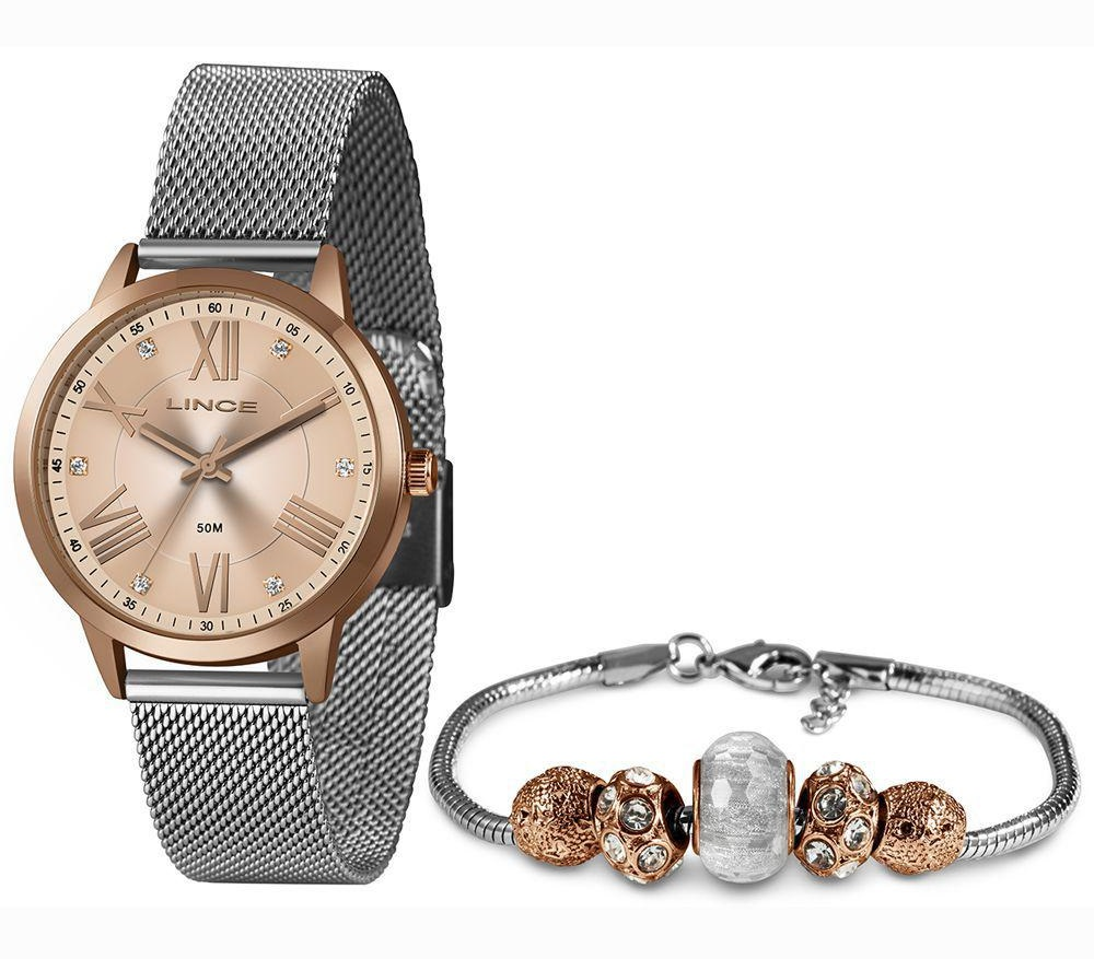 Relógio Lince Feminino LRT4651L KX56 Rosê
