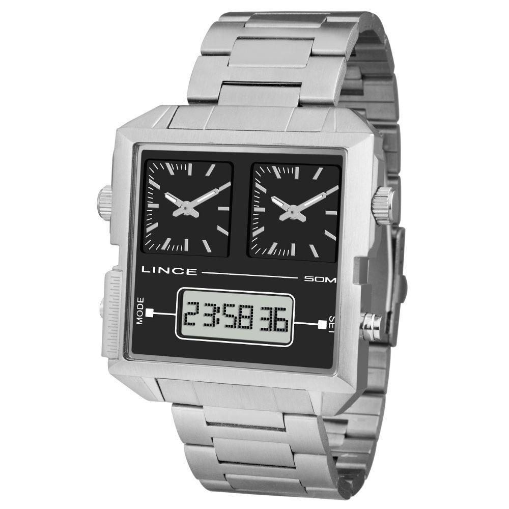 Relógio Lince Masculino Analógico / Digital MAM4587S P1SX