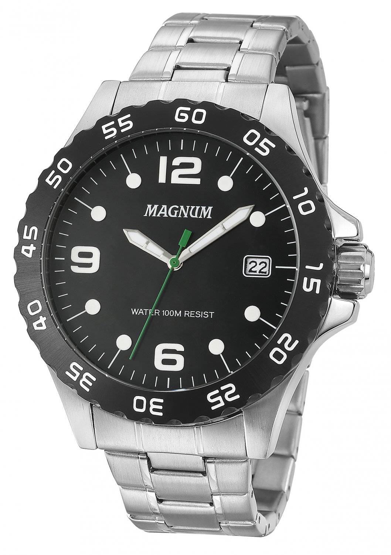 Relógio Magnum Masculino Quartz MA34389D
