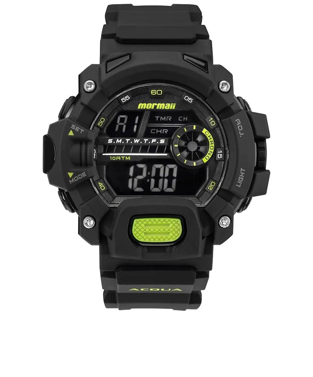 Relógio Mormaii Acqua Digital Masculino Quartz MO1132AG/8V