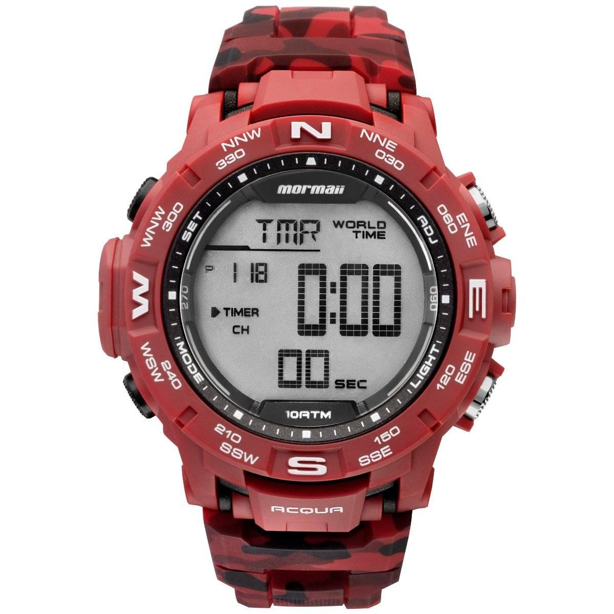 Relógio Mormaii Acqua Masculino Quartz MO1173A/8R