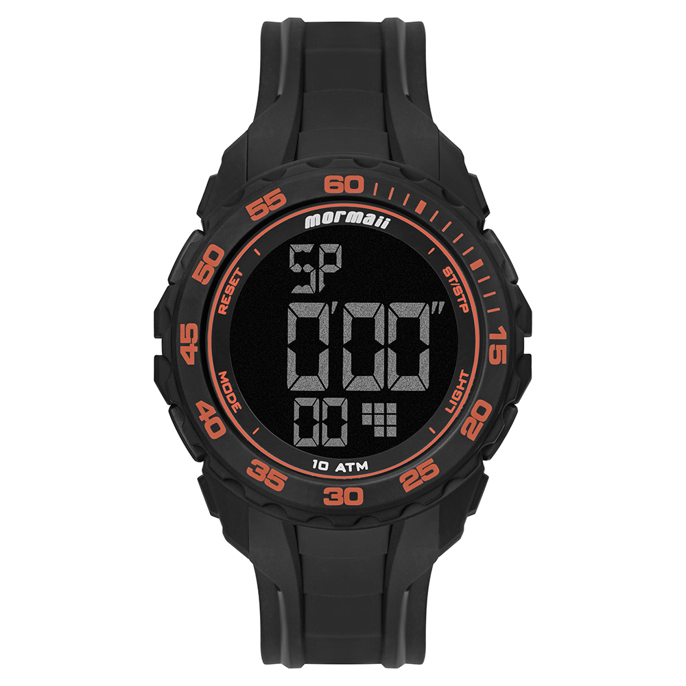 Relógio Mormaii Digital Masculino MO18769AB/8L