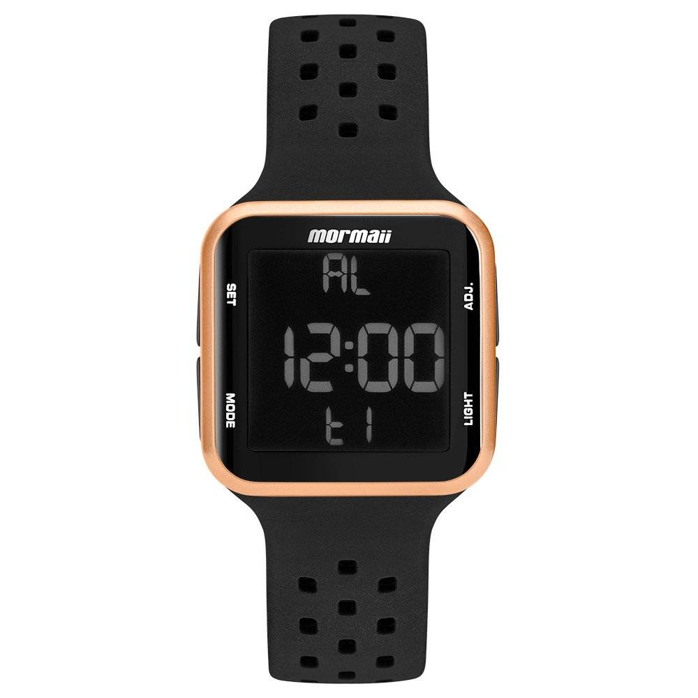 Relógio Mormaii Digital Unissex Quartz MO6600/8J