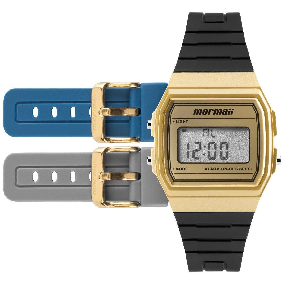 Relógio Mormaii Troca Pulseira Unissex Quartz MOJH02AF/8D