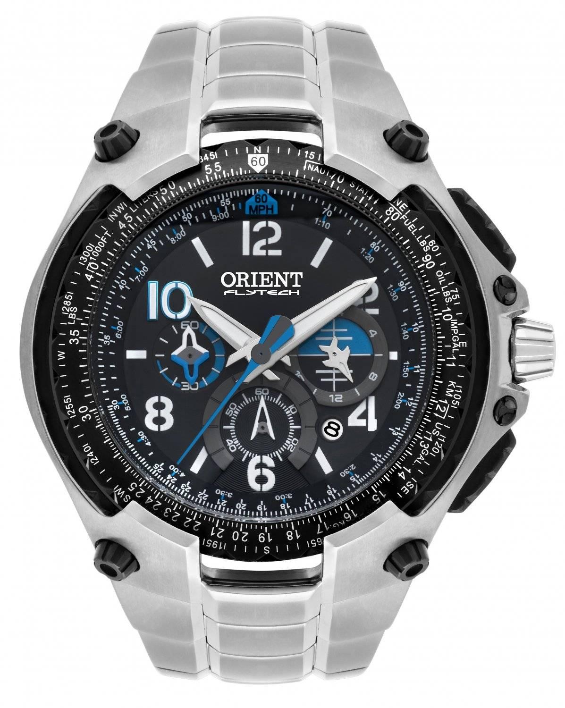 Relógio Orient Flytech Masculino Quartz nº 0069/1028 MBTTC016 P2SX
