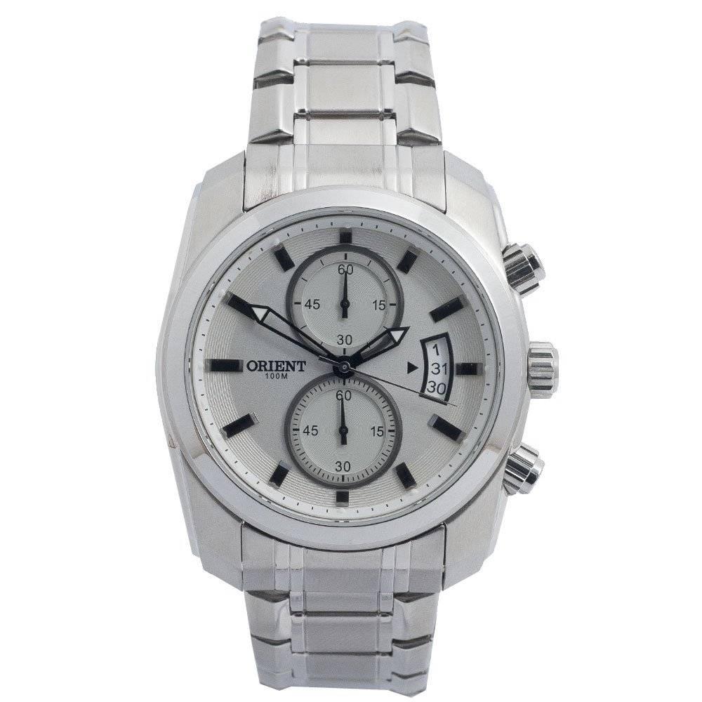 Relógio Orient Masculino Cronógrafo Quartz MBSSC051 S1SX