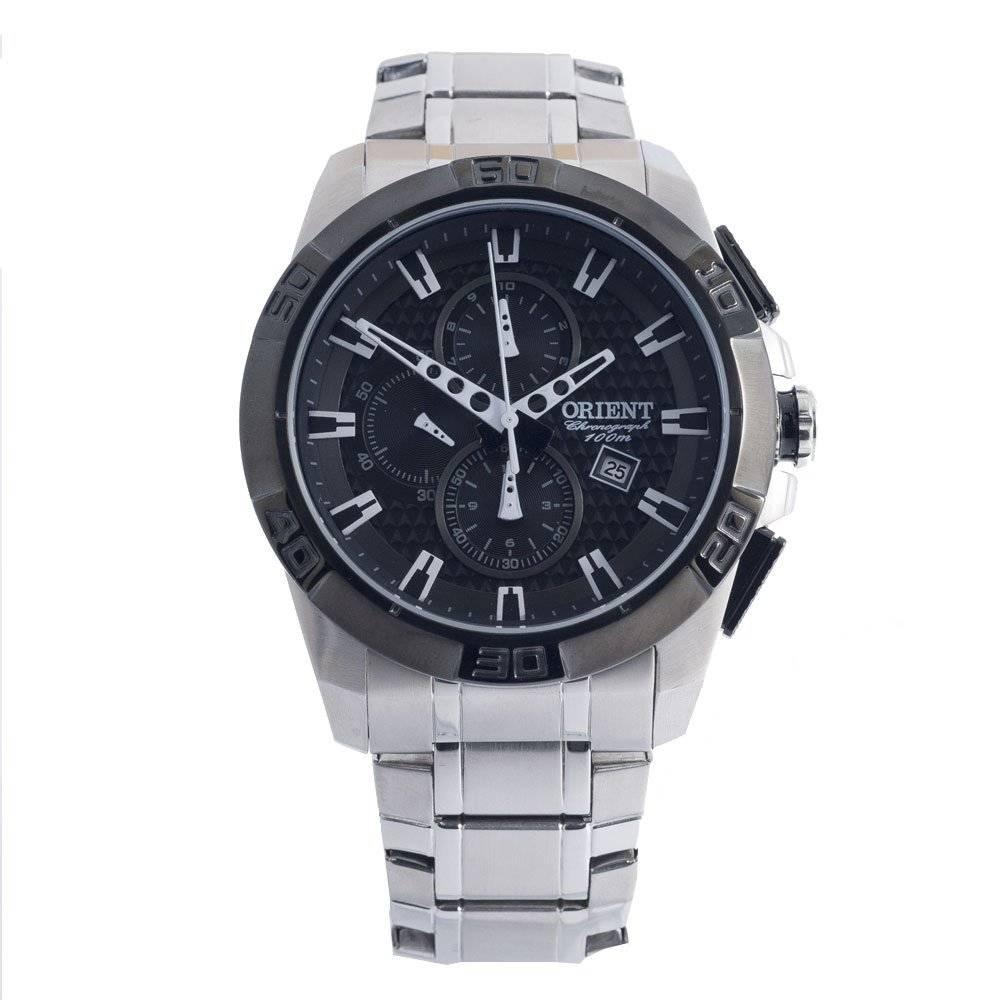 Relógio Orient Masculino Cronógrafo Quartz MBSSC063 P1SX