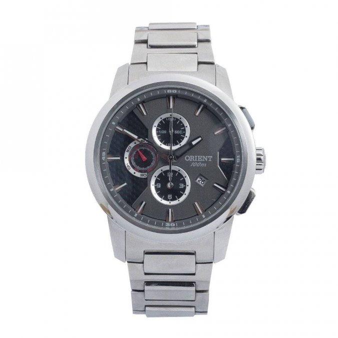 Relógio Orient Masculino Cronógrafo Quartz MBSSC072 P1SX