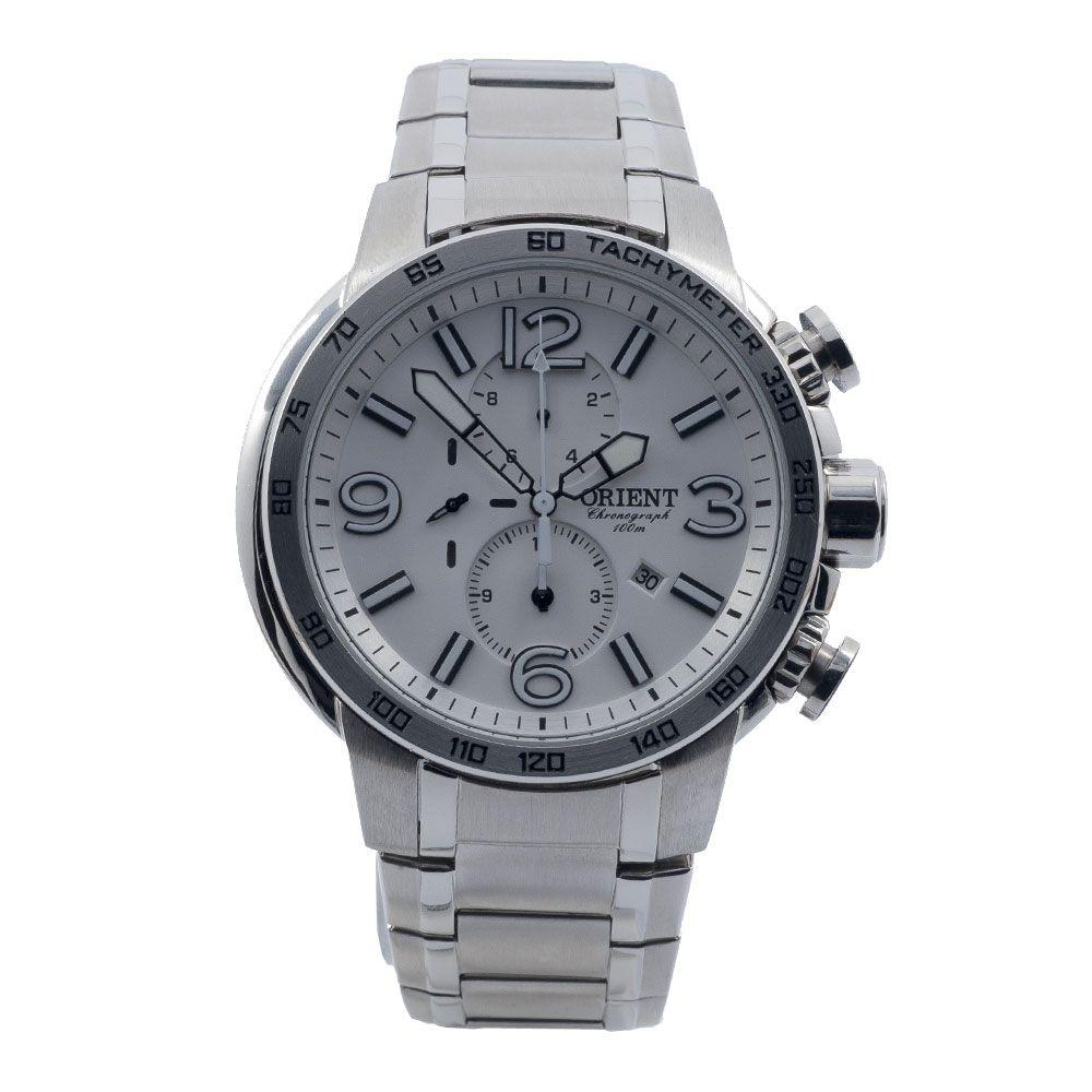 Relógio Orient Masculino Cronógrafo Quartz MBSSC089 S2SX
