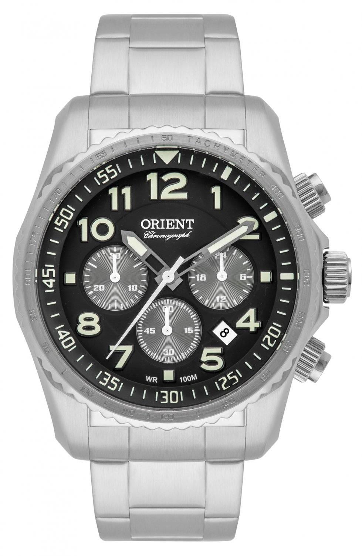 Relógio Orient Masculino Cronógrafo Quartz MBSSC148 P2SX
