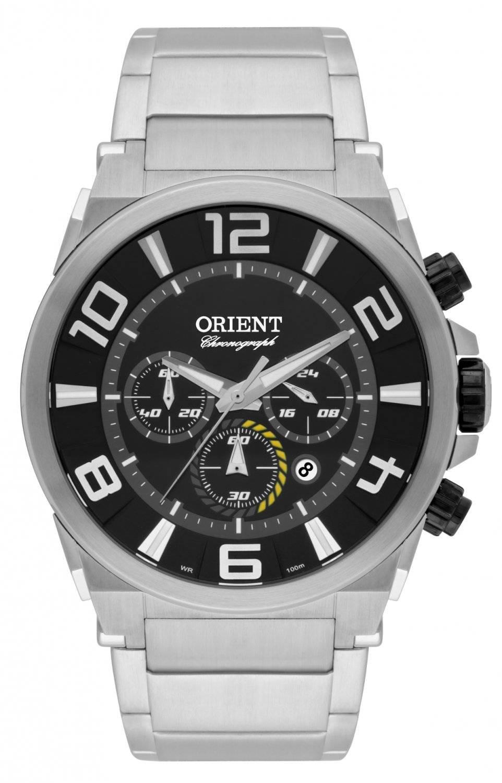 Relógio Orient Masculino Cronógrafo Quartz MBSSC158 P2SX