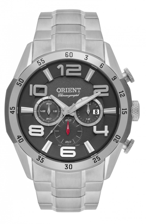Relógio Orient Masculino Cronógrafo Quartz MBSSC159 G2SX