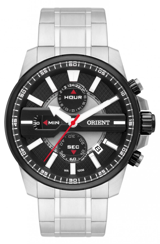 Relógio Orient Masculino Cronógrafo Quartz MBSSC162 P1SX