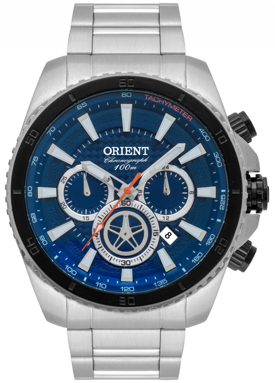 Relógio Orient Masculino Cronógrafo Quartz MBSSC168 D1SX