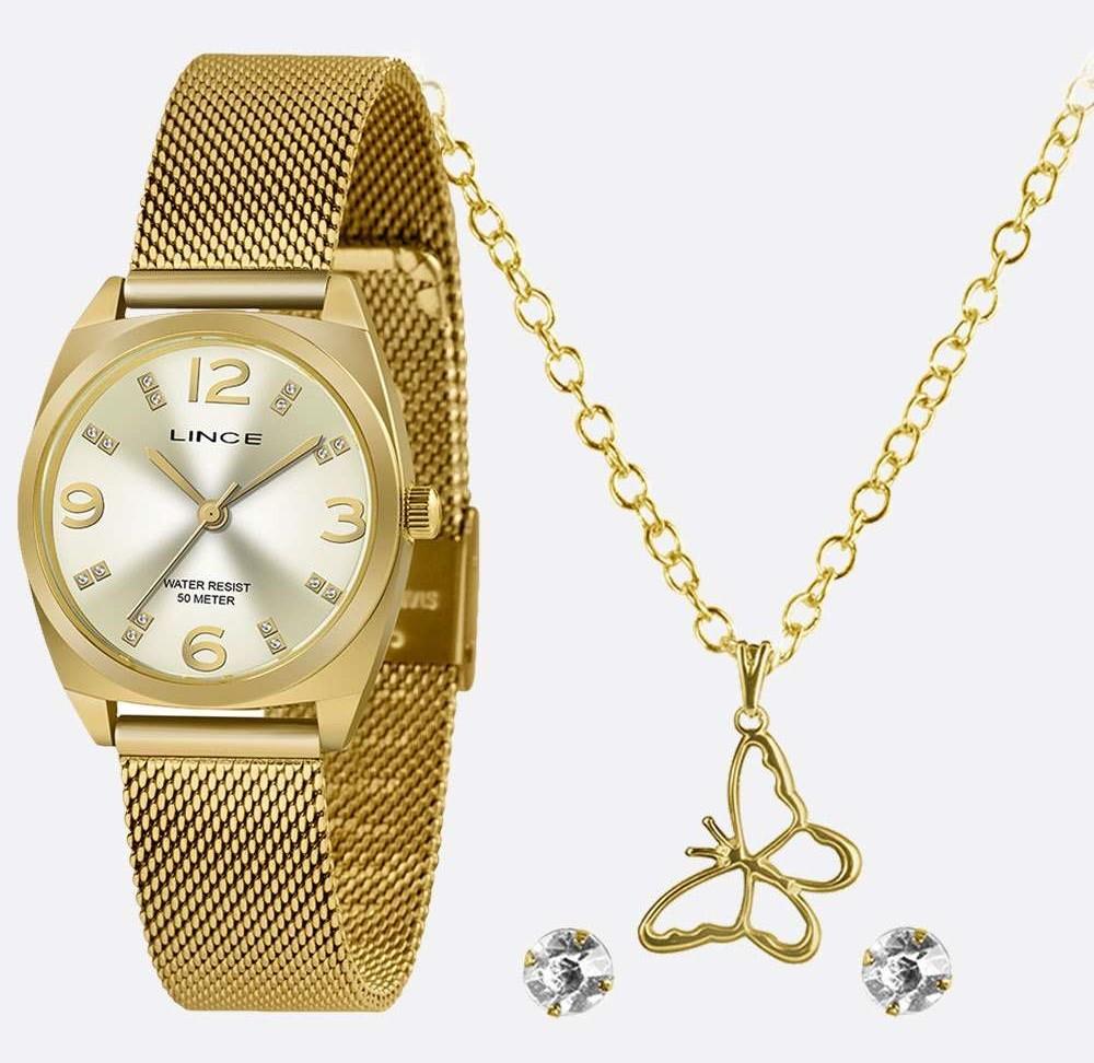 Relógio ORIENT Masculino LRGH139L KY24 Dourado