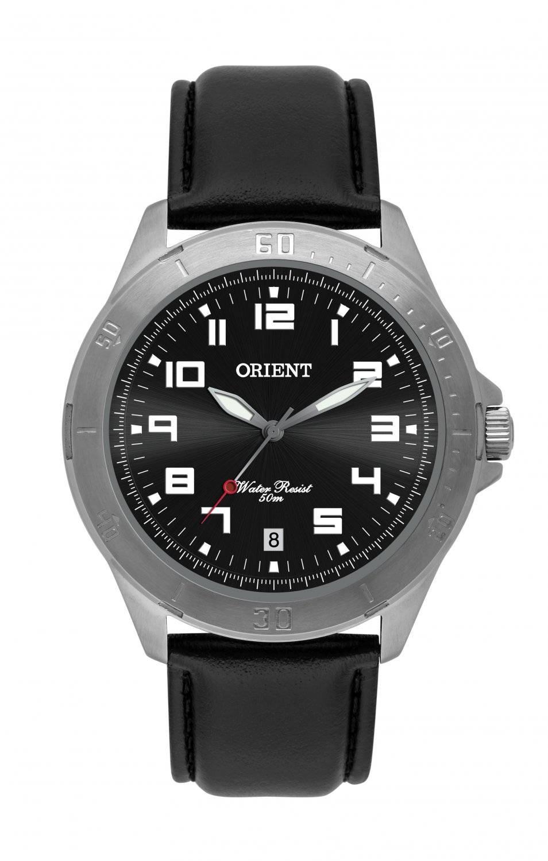 Relógio Orient Masculino Quartz Couro MBSC1032 G2PX