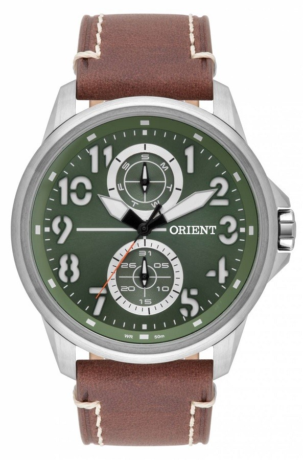 Relógio Orient Masculino Quartz MBSCM010 E2NB