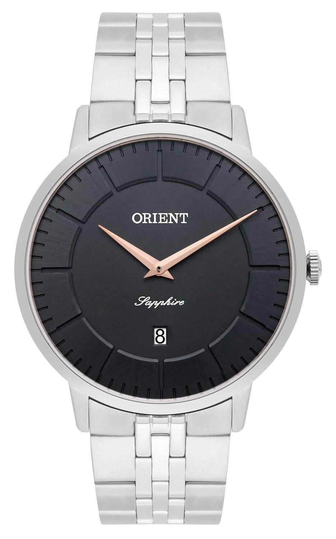 Relógio Orient Slim Sapphire Masculino Quartz MBSSS009 G1SX
