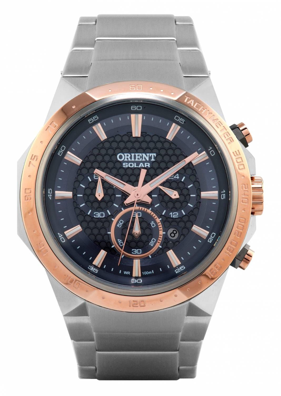 Relógio Orient Solar Tech Masculino Quartz MTSSC008 P1SX