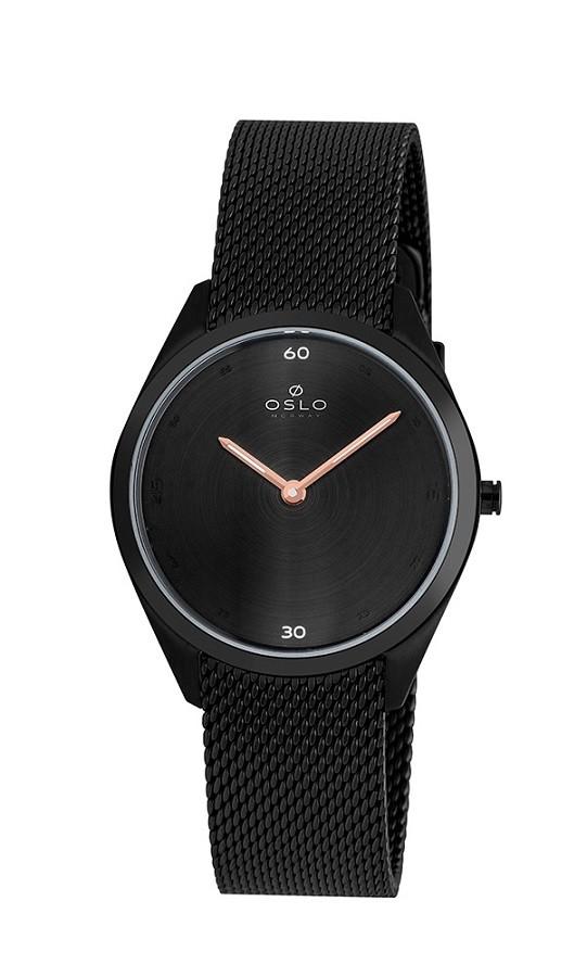 Relógio Oslo Feminino Slim OFPSSS9T0003 Preto