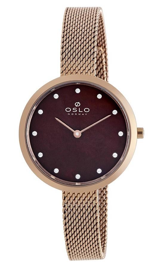 Relógio Oslo Feminino Slim OFRSSS9T0010 Rosê