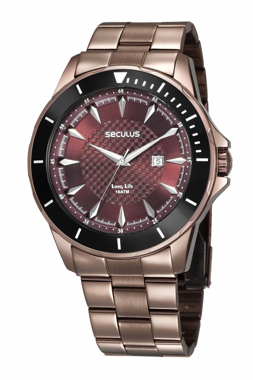 Relógio Seculus Masculino Long Life 28993GPSVMA2