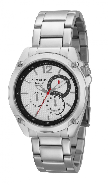 Relógio Seculus Masculino Long Life Plus Quartz 28165G0SPNA1