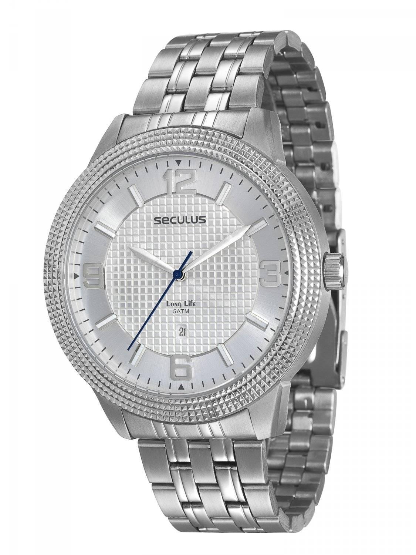 Relógio Seculus Masculino Long Life Quartz 20239G0SVNA1