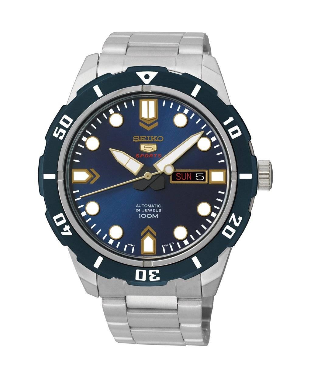 Relógio Seiko 5 Sports Masculino Automático SRP677B1 D1SX