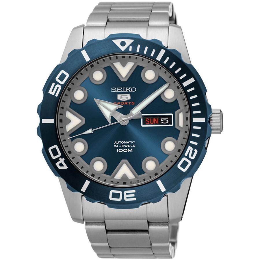Relógio SEIKO Masculino Automático Sports SRPA09B1 D1SX 24Jewels